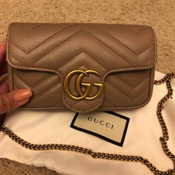 8e38147ec09ca3 Gucci Bags | Gg Marmont Matelass Leather Super Mini Bag | Poshmark